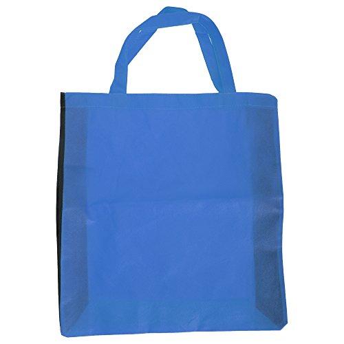Bags By Jassz Hawthorn - Borsa con Lati a Contrasto Blu Medio/Nero