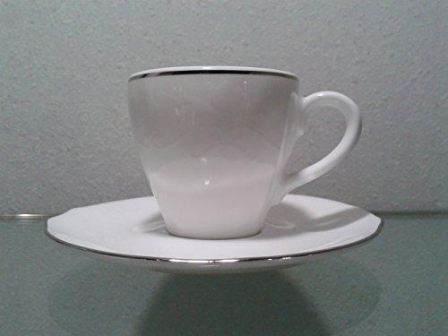 Richard Ginori 1735 12 pezz i(6 Tazze+6 piattini) caffe'Duchessa dec Virginia 01979