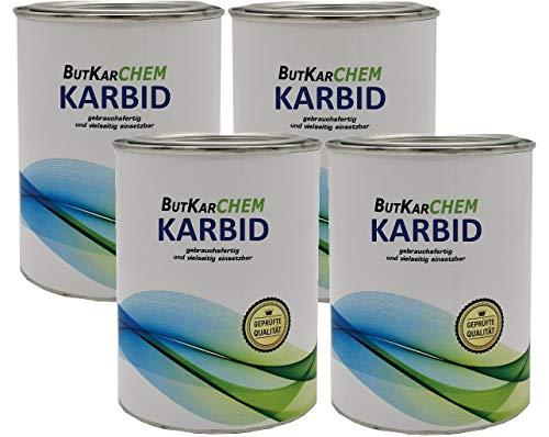 ButKarCHEM KB-DE 465851 2 Kg Karbid acetylen Feste Steine *Gebrauchsfertig* in Körnung 17-20 mm gut dosierbar Varianten (2Kg)