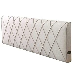 QIANCHENG-Cushion Kopfteil Rückenlehnen Bett Kissen Ohne Kopfteil Big Hüftpolster Soft Case Kissen Abnehmbare waschbar…