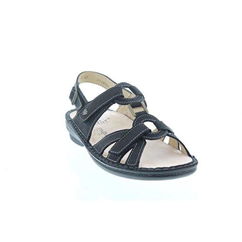 Finn Comfort Timor-S, Nubukleder (Buggy), schwarz, Weichbettung 82801-046099 Schwarz