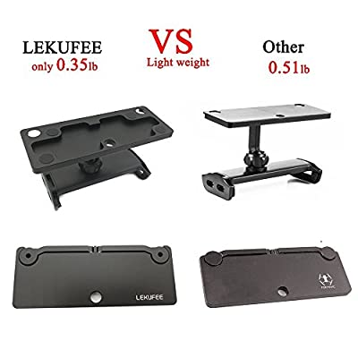 LEKUFEE Lightweight Aluminum-Alloy Foldable Tablet Stand Holder Extender with Lanyard for Mavic 2 Pro/Mavic 2 Zoom/Mavic Pro/Mavic Air/Dji Spark Remote Controller Device