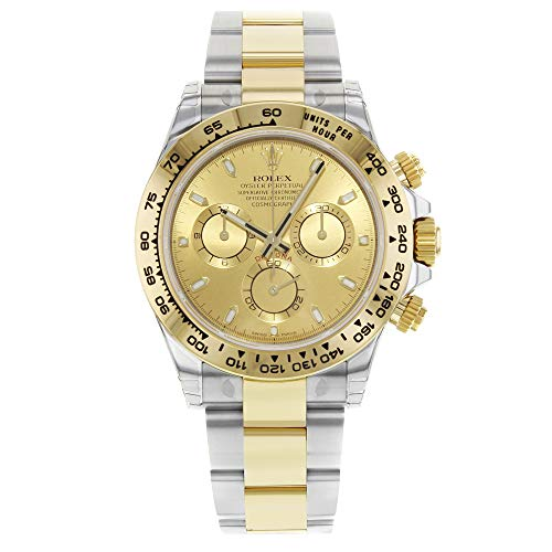 Rolex Daytona 116503 Champagne Dial Steel 18K Yellow Gold Automatic Mens Watch