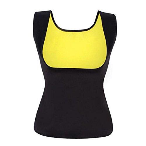 Heißer Shaper Bust Lifter Bauch In Fettverbrennung Body Shaper Slimming Vest Frauen ' Shapewear Vest,Black,M -