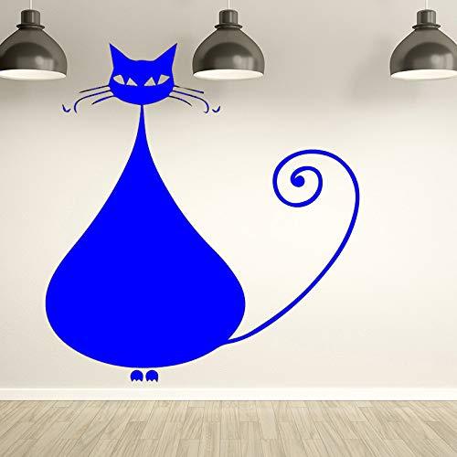Zaosan Modewandaufkleber der Wilden Katze moderner für Kinderwohnzimmer-Schlafzimmerhintergrundausgangsdekor