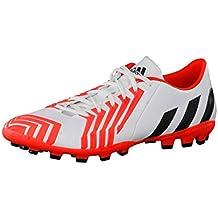 quality design 96628 ce8ba adidas Hombre Botas de fútbol para césped Artificial p Absolion Instinct  AG, Hombre, Blanco