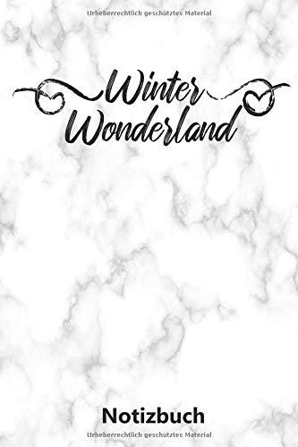 Notizbuch: Winter Wonderland | Weihnachtsspruch (A5 | liniert | 100 Seiten)