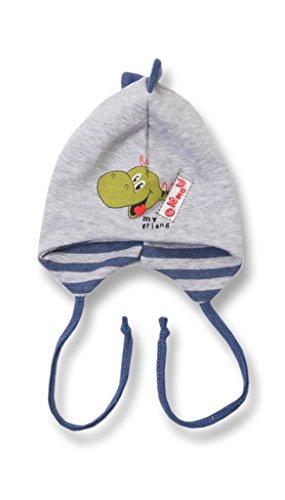 Babymütze mit Dino Motiv für Neugeborene und etwas größere Babies, By32 Gr. 74