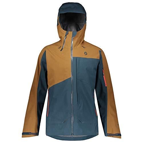 Scott Herren Skijacke Vertic GTX 3L Nightfall Blue/Tobacco Brown S
