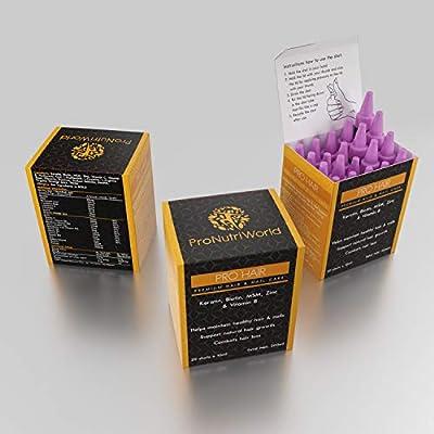 Keratin, Biotin Hair Growth Vitamins- Liquid Supplement for Women & Men