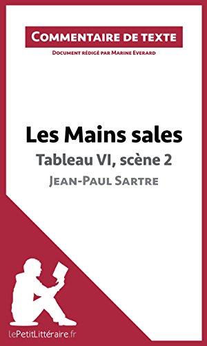 Les Mains sales de Sartre - Tableau VI, scène 2: Commentaire de texte