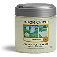 Yankee Candle Spheres Air Freshener, Up to 45 Days of Fragrance, Clean Cotton
