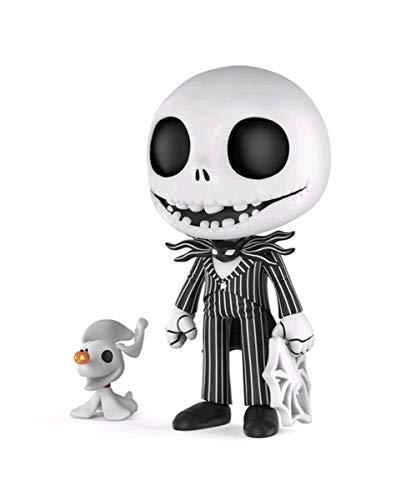 (Horror-Shop Funko 5 Star Vinyl Figur Jack Skellington als Geschenkidee)