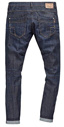 Timezone Herren Jeans Slim Scott - Slim Fit - Blau - Pure Wash Pure Wash (3964)