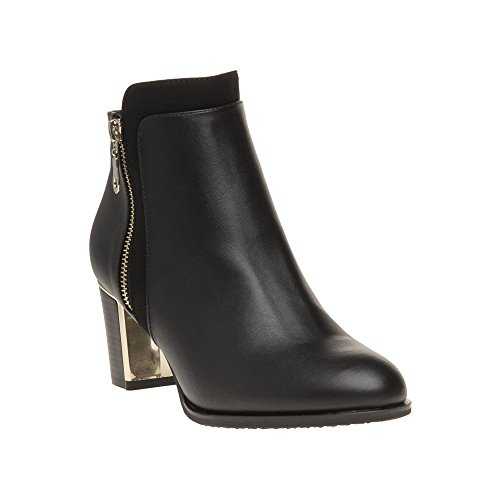 Lotus Tabby Womens Dress Ankle Boots 4 Black