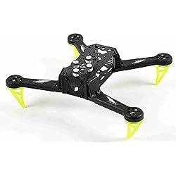 Spedix S250AQ FPV - Kit de marco para drones de carreras (250 mm, fibra de carbono)