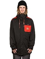 DC Shoes Delinquent–Chaqueta de esquí para hombre negro FR: XL (talla fabricante: XL)
