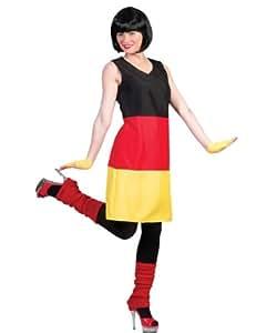 Pierro´s Kostüm Damen Kleid Germany Größe 40/42
