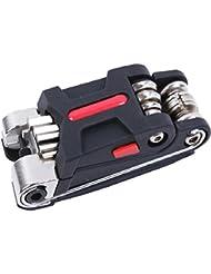 Profi-Werkzeug Mini Multifunktions f/ür die Reparatur und Wartung von Fahrrad Stahl 11/Funktionen 3690