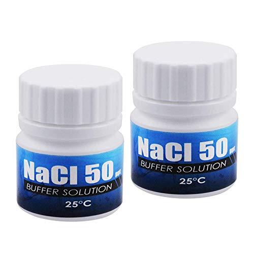 Medidor De Salinidad De 20 ML NaCl 50 Ppt Solución