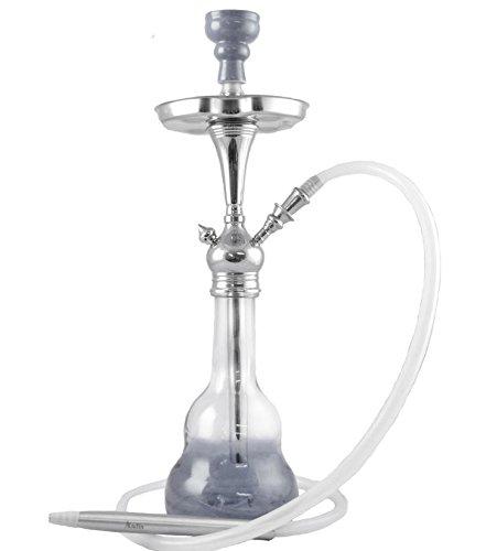 Shisha Pipa de Agua pipa de la manguera de shisha con diseño de Aladin Madrid 1 Silikom de la manguera...