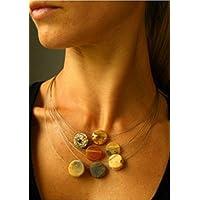 Wunderschönes Collier, Bernsteinkette, amber necklace, Silber 925, Amber necklace, NEU -UNIKAT-