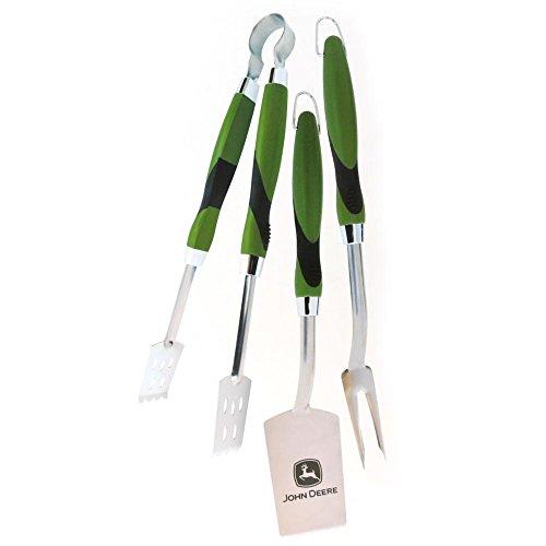 Chiave Enterprises John Deere utensili da barbecue