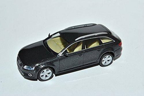Audi-A4-B8-Avant-Allroad-Quattro-Kombi-Schwarz-Grau-2007-2015-H0-187-Herpa-Modell-Auto-mit-oder-ohne-individiuellem-Wunschkennzeichen