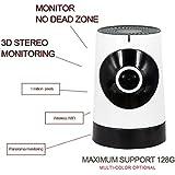 WeituFurn Caméra IP Caméra de Surveillance,Caméra réseau IP 720P,détection de mouvement,Infrarouge IR vision nocturne,Prise en charge d'IOS et Android (blanc)