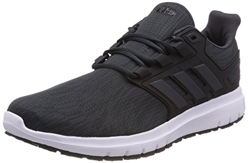 adidas Energy Cloud 2 M, Scarpe Running Uomo Grigio (Carbon/carbon/core Black 0)