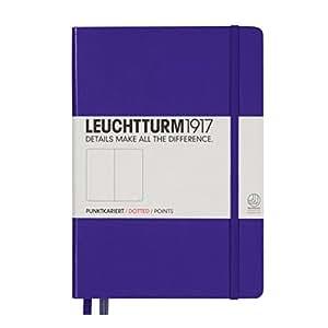 Leuchtturm1917 346687 Carnet Medium (A5), 249 pages, pointillés, violet