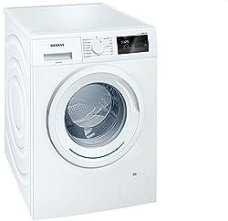 Siemens iQ300 WM14N060 Waschmaschine / 6,00 kg / A+++ / 137 kWh / 1.400 U/min / Schnellwaschprogramm / Nachlegefunktion / 15-Minuten Waschprogramm /