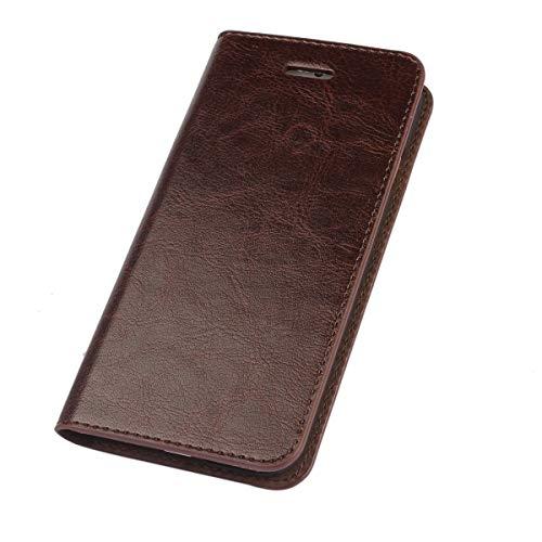 Geeignet Für Iphone 5 / 5s / Se-handyhülle, Leder-clamshell-anti-fall-business-casual-geldbörsenart-handyholster,Brown,iphone5/5s/SE Clamshell Case
