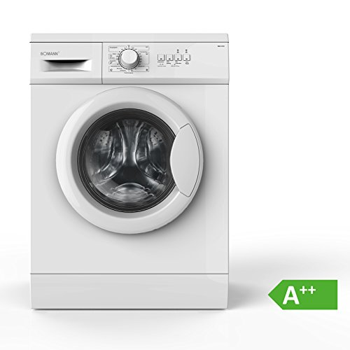 Bomann WA 5719 Waschmaschine Frontlader / A++ / 1000 UpM / 6 kg / weiß