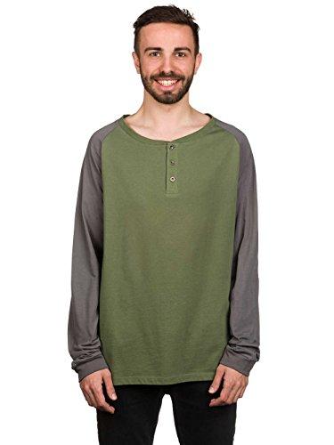 Herren Langarmshirt Light Timber T-Shirt Olive
