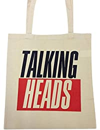 TALKING HEADS COTTON TOTE BAG
