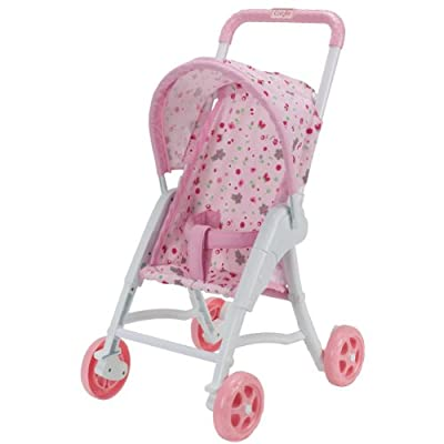 Corolle W9016 - Silla de paseo para muñeca de 30 cm, color rosa de COROLLE
