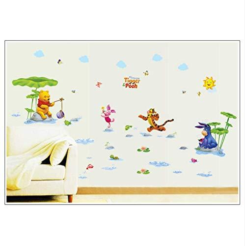 Winnie the Pooh y amigos para la habitación de los niños pared decorativos pegatinas de pared pegatinas