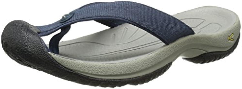 KEEN Men's Waimea H2 Beach Sandal  Midnight Navy/Neutral Gray  15 M US