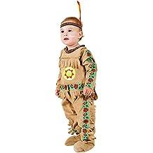 Costume di Carnevale da Piccolo Indiano Vestito per Neonato Bambino 0-3  Anni Travestimento Veneziano e001a345140