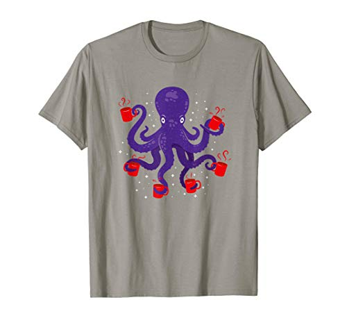tige Kaffeeliebhaber T-Shirt ()
