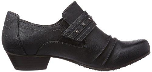 Tamaris - 24306, Bottines Pour Femme Noires (schwarz (black Uni 007))