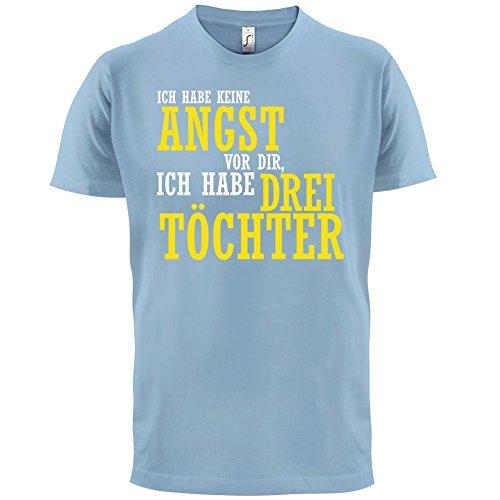 ICH FÜRCHTE MICH NICHT VOR DIR, ICH HABE DREI TÖCHTER - Herren T-Shirt