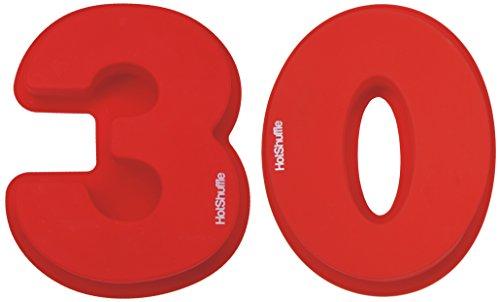 Große Silikon Anzahl 30 Kuchenform Backen Geburtstag Jubiläum Geburtstagstorte (Kuchenform Anzahl 100)