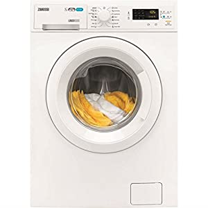 Zanussi ZWD71663NW 7kg Wash 4kg Dry 1600rpm Freestanding Washer Dryer-White by Zanussi