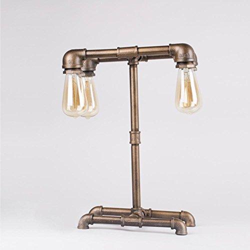 Lampada da tavolo industriale lampada tubo dell'annata . dimming