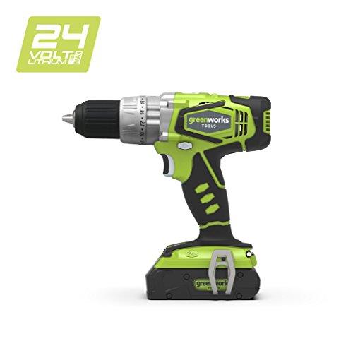 Greenworks 24V Akku-Kombi-Bohrhammer (ohne Akku und Ladegerät) - 3801107