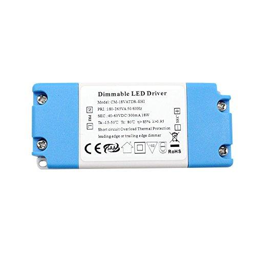 Conducteur de Dimmable LED de VIPMOON 13-18W DC pour le plafonnier mené d'ampoules