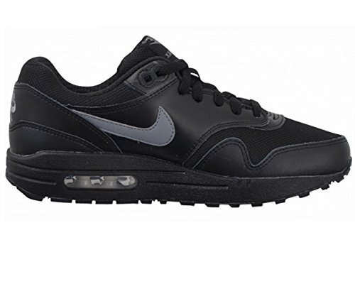 Nike Air Max 1 (Gs), Nike Air Max 1 GS black cool grey white 555766 043 homme Noir