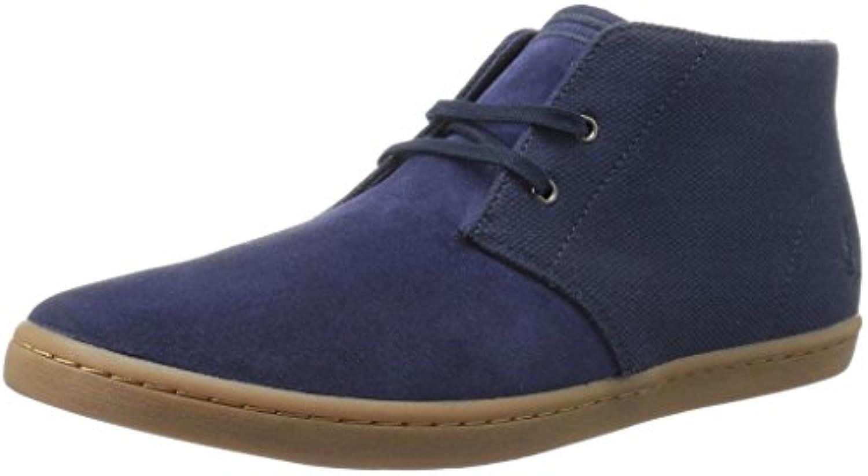 Botines Fred Perry Byron Azul  Zapatos de moda en línea Obtenga el mejor descuento de venta caliente-Descuento más grande